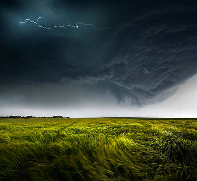 Thunderstorm Photograph - Sommergewitter_01 by Franz Schumacher