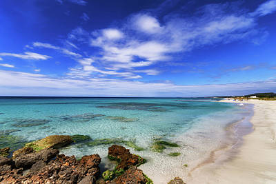 Photograph - Son Bou Beach, Menorca by Scott Masterton