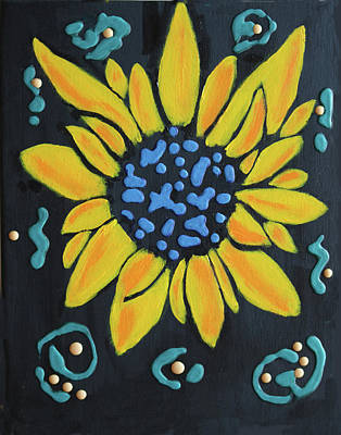 Painting - Son Flower by Deborah Boyd