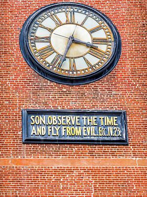 Photograph - Son, Observe The Time by Robin Zygelman