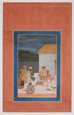 Sultan Painting - Son Of Jahangir by Eastern Accent
