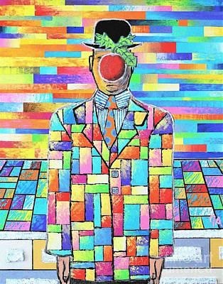 Painting - Son Of Man Jeremy Style by Jeremy Aiyadurai