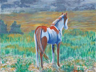 Son Of Painted Desert Print by Ann Sokolovich