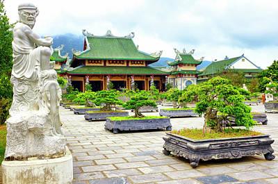 Photograph - Son Tra Linh Ung Pagoda by Fabrizio Troiani