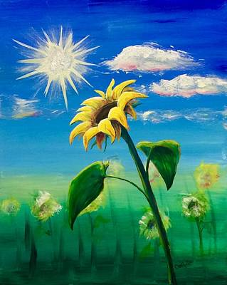 Painting - Sonflower by Lisa DuBois