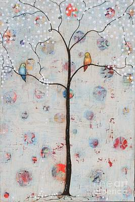 Painting - Song Birds by Natalie Briney