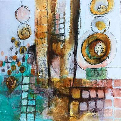 Mixed Media - Song by Karin Husty
