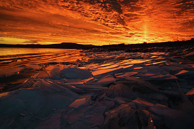 Photograph - Song Of Ice And Fire by Justin Johnson