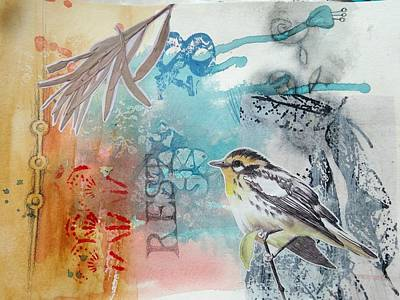 Mixed Media - Song Of Life  by Rose Legge