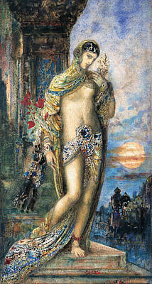 Painting - Song Of Songs  by Gustave Moreau