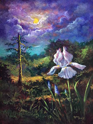 Painting - Song Of The Iris   by Randol Burns