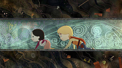 Floral Digital Art - Song Of The Sea by Maye Loeser