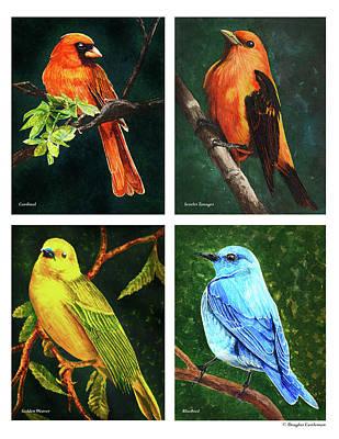 Painting - Songbirds by Douglas Castleman
