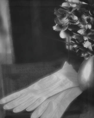 Photograph - Songs For Mixed Voices Vintage Bw by Teresa Wilson