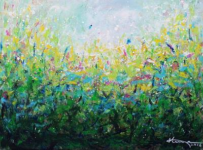 Painting - Songs Of Spring 2 by Kume Bryant