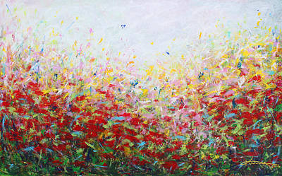 Painting - Songs Of Spring 3 by Kume Bryant