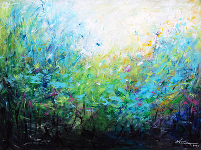Painting - Songs Of Spring by Kume Bryant