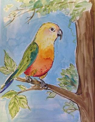 Easterseals Painting - Songs Of Spring by Patty F