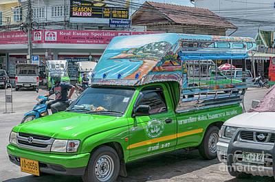 Photograph - Songthaew Minibus by Antony McAulay