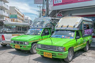 Photograph - Songthaew Taxi by Antony McAulay