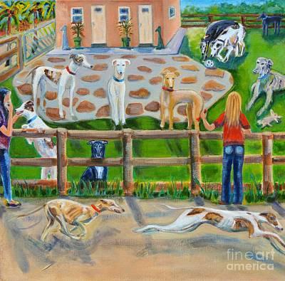 Sonia's Farm Original by Diane Hagg