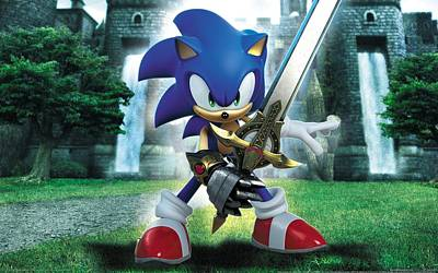 Sports Digital Art - Sonic And The Black Knight by Super Lovely