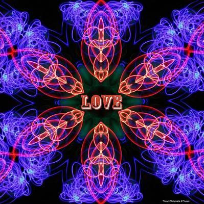 Digital Art - Sonic Love by Wesley Nesbitt