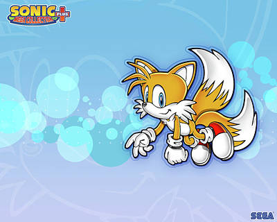 Drawing Digital Art - Sonic Mega Collection Plus by Super Lovely