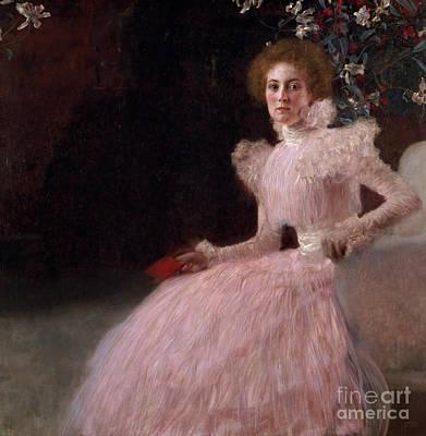 Gown Painting - Sonja Knips by Gustav Klimt