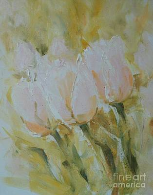 Painting - Sonnet To Tulips by Alla Dickson