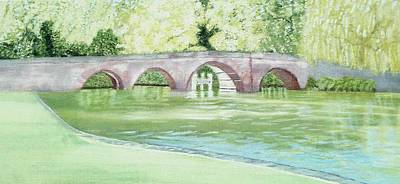 Painting - Sonning Bridge by Joanne Perkins