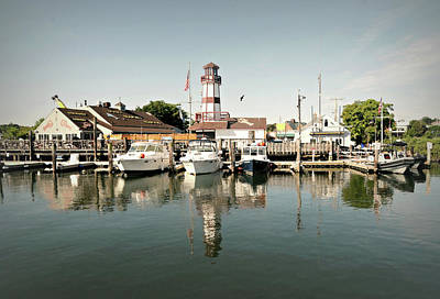 Norwalk Photograph - Sono Seaport by Diana Angstadt