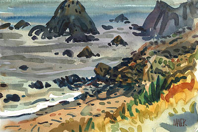 Painting - Sonoma Coast by Donald Maier