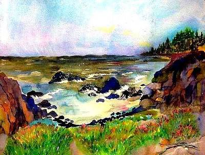 Painting - Sonoma Coast by Esther Woods