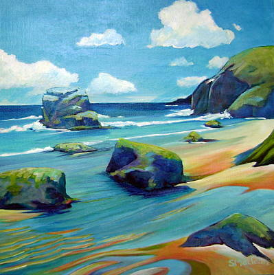Sonoma Coast Art Print by Stephanie  Maclean