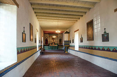 Photograph - Sonoma Mission Chapel by David Lawson