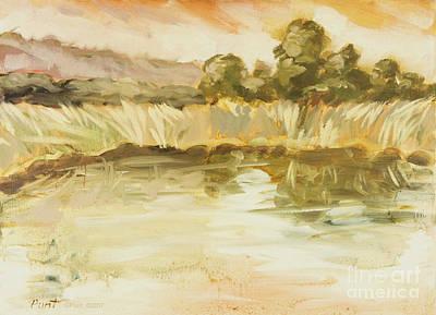Painting - Sonoma Pond Ca by Gordon Punt