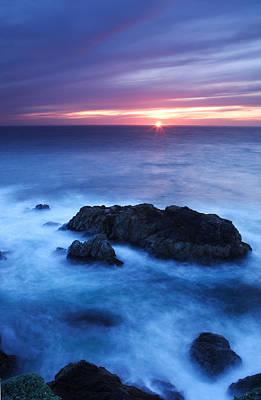 Sonoma Sunset Art Print by Eric Foltz