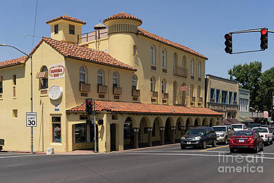 Sonora California Sonora Inn Dsc4148 Art Print by Wingsdomain Art and Photography