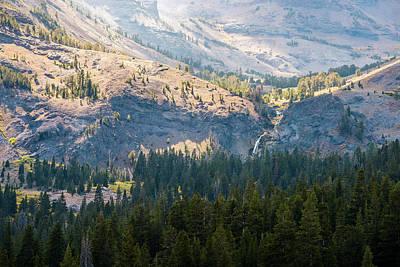 Photograph - Sonora Pass - Sardine Falls by Alexander Kunz