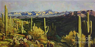 Painting - Sonoran Desert by Ekaterina Stoyanova