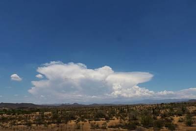 Photograph - Sonoran Desert Thunderhead by Bill Tomsa