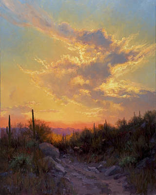 Desert Painting - Sonoran Glow by Becky Joy
