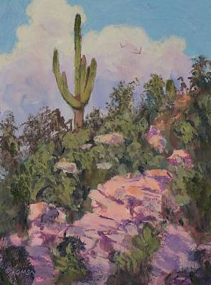 Painting - Sonoran Landscape - Art By Bill Toms by Bill Tomsa