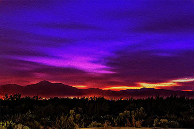 Photograph - Sonoran Sunset No1 by Mark Myhaver