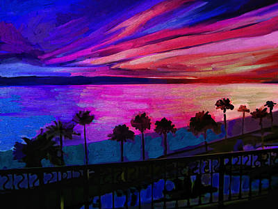 Sea Of Cortez Painting - Sonoran Sunset by Robin Roy