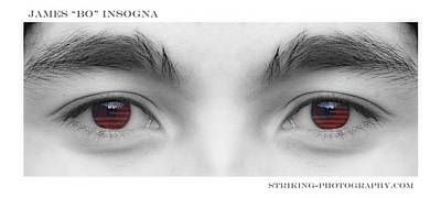 Photograph - Son's Eyes by James BO  Insogna