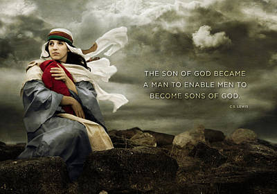 Digital Art - Sons Of God by Kathryn McBride