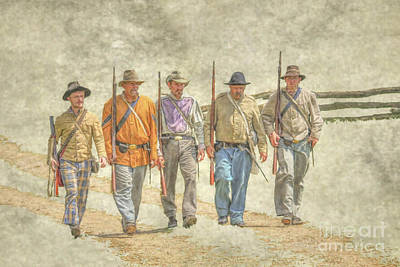 Digital Art - Sons Of The South  by Randy Steele