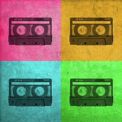 Sony Cassette Tape Walkman Vintage Pop Art Art Print